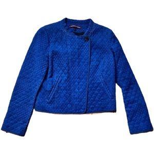 Comptoir des Cotonniers Denim Quilted Jacket